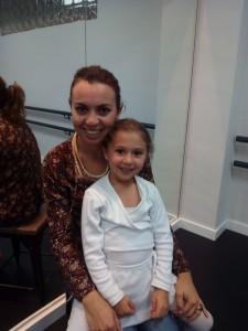 Mª Carmen Peralvarez con su hija Azahara Moreno Peralvarez