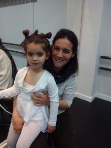 Mª José Funes con su hija Carmen Roig Funes