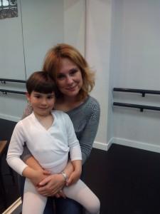 Mª del Mar Sánchez con su hija Elvira Amanda Frances Sánchez