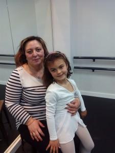 Begoña Ramirez con su hija Lucia Cea Ramirez