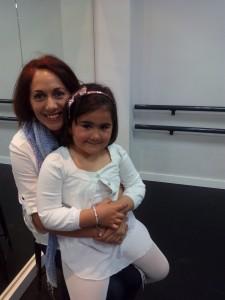 Mª Luz Baquero Sánchez con su hija Maria Quijada Baquero