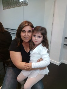 Sonia Fernandez con su hija Valeria López Fernández