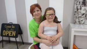 Isabel Rosales con su hija Lara Garcia Rosales