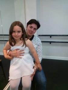 Mª Dolores Tirado con su hija Sandra Asenjo Tirado