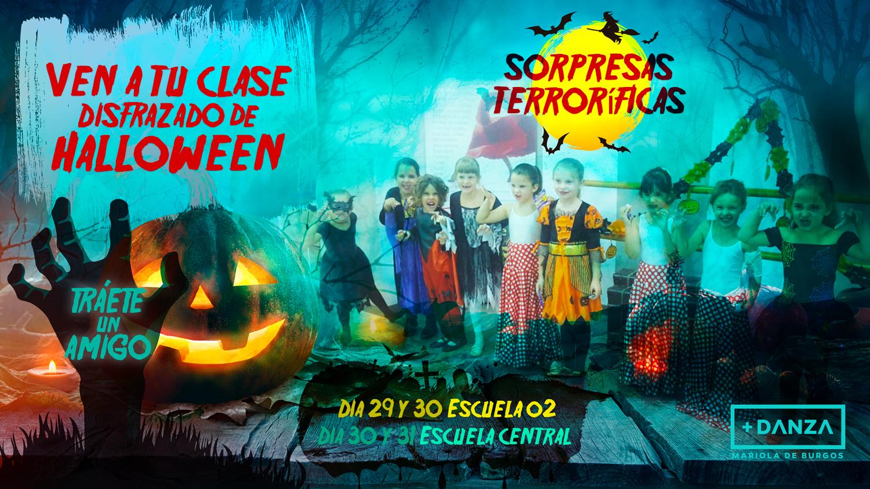 El Halloween más divertido, en Más Danza Mariola de Burgos 🎃