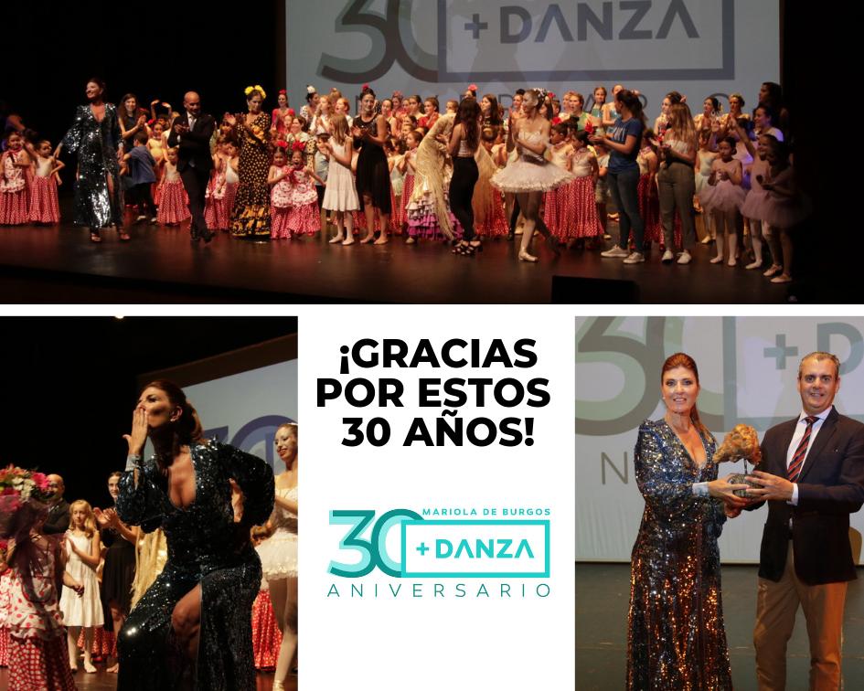 Mariola de Burgos cumple 30 años compartiendo su pasión por la danza